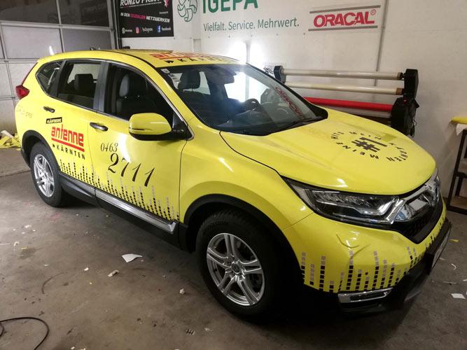Antenne Kärnten Fahrzeugdruck