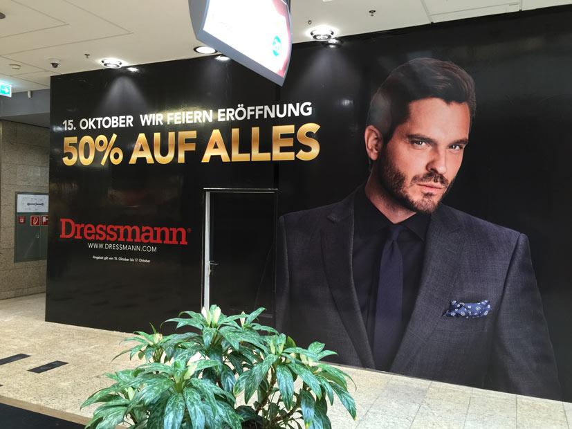 Plakat für Dressmann