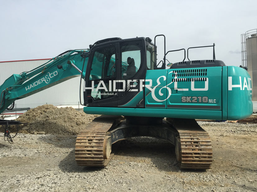 Maschinendruck für Haider&Co