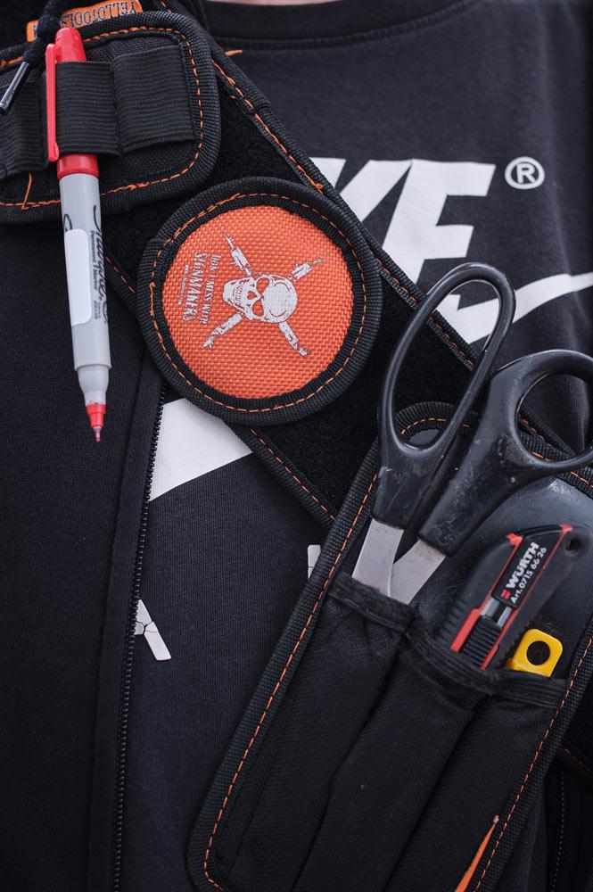 Werkzeug zum Cutten, Bekleben und co